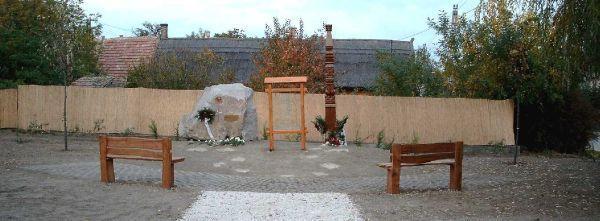 Emlékpark, Újléta